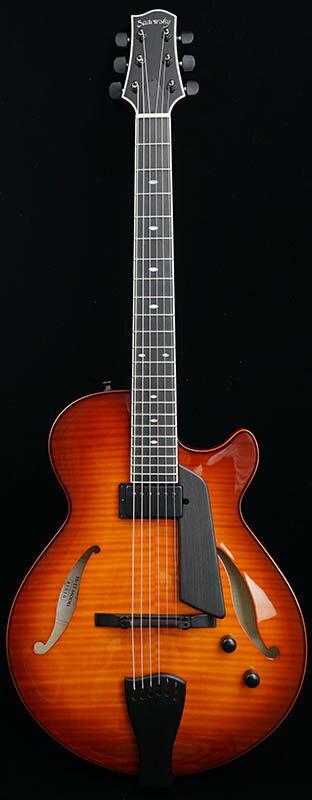 Sadowsky Guitars Archtops Series SS-15 (Sienna Burst)