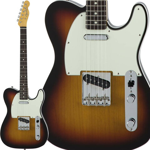 Fender Traditional 60s Telecaster Custom (3-Color Sunburst) [Made in Japan] 【数量限定!ギターアンプ VOX Pathfinder10プレゼント!!】 【ポイント5倍】