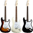Squier by Fender Bullet Strat w/Tremolo HSS 【期間限定★送料無料】 【ポイント5倍】