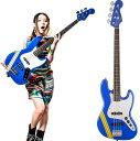 "Squier by Fender TOMOMI JAZZ BASS SKY BLUE ""Bluetus"" 【数量限定イケベスペシャル特典付き】"