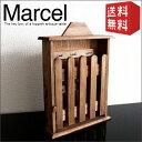 キーボックス マルセル | 鍵 鍵入れ 鍵掛け 鍵かけ 鍵置き 木製 小型 天然木 パイン カントリー アンティーク 扉付き ふた付き ギフト プレゼント おしゃれ 送料無料