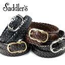 サドラーズ Saddler's/ バタフライバックルレザーメ...