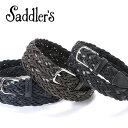 サドラーズ Saddler's/ カーフ×レーヨンコンビメッ...