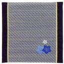 刺繍シリーズ [花模様] 座布団 BL 55x55cm