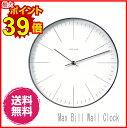 マックス ビル 掛け時計 ライン Max Bill Wall Clock デザイン時計 クロック お洒落 532P17Sep16