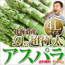 アスパラ ギフト 北海道 【 4Lサイズ 1kg 幻の超極太...