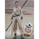 【ムービー・マスターピース】『スター・ウォーズ/フォースの覚醒』1/6スケールフィギュア レイ&BB-8(2体セット)Movie Masterpiece - 1/6 Scale Fully Poseable Figure Star Wars The Force Awakens - Rey & BB-8 Set