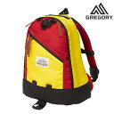 GREGORY グレゴリーCLASSIC DAY PACK クラシックデイパック 40周年記念モデル イエロー×レッド 限定商品 SALE 正規品