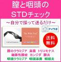 【送料無料】KIT010 アイラボの「膣と咽頭のSTDチェック」のどと膣の性病検査キット!お仕事され
