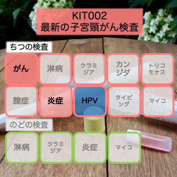 【送料無料】KIT002 アイラボの「最新の子宮頸がん検査」【あす楽対応】