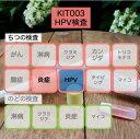 【送料無料】KIT003 アイラボの「HPVハイリスク検査」 【あす楽対応】検査項目:ハイリスクHPV(13種)、膣炎