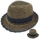 ショッピング麦わら帽子 麦わら帽子 中折れハット 外線防止 ラメ入り ストローハット 中折れ カラー切替 紫 日よけ帽子 メンズ レディース 春 夏 STRAW HAT 6527