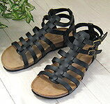 Gently wrap the foot Gladiator sandal comfort type bottom ★ 1343 friends maker fs3gm