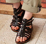 Leather Gladiator sandal boots Sandals ★ 1220 friends VA * no refunds / Exchange round-trip postage customers bear fs3gm
