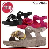 ■レビュー記入価格■ fitflop フィットフロップ yoko sandal 385 ヨーコ サンダル バックストラップ エクササイズ シェイプアップサンダル ダイエット コサー