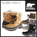 送料無料 SOREL ソレル TIVOLI II ティボリII レディース 防寒ブーツ NL2089 雪靴 スノーブーツ ウィンターブーツ アウトドアブーツ 【...