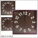時計 掛け時計 HOLE CLOCK ホールクロック 電波時計 YK12-001 ホワイト ブラック パープル Feel フィールシリーズ ヤマト工芸 yamato japan【送料無料】
