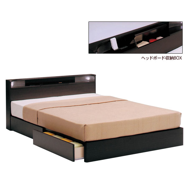 Ill rakuten global market with storage box small palace for Double bed with box design