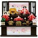 雛人形 ひな人形 3段飾り 衣裳着 コンパクト 収納飾り マ...