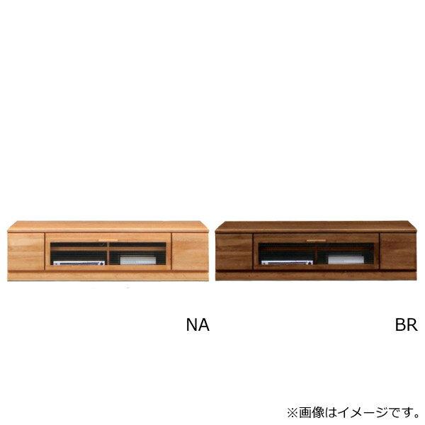 テレビ台 AV機器収納 【スコール】 幅160TVロータイプ 木製 モダン TVボード クロスペンガラス使用 リビング 2色対応 NA BR 収納家具 【送料無料】 テレビボード 2色対応 NA/BR