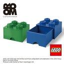 小物入れ 小物収納 おもちゃ箱 LEGO【4005 レゴ ブリックドロワー フォー】ストレージ LEGO STORAGE かわいい おしゃれ