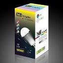 調光・調色LED電球【フルカラー&電球色】100V7.5W口金E26Milight【RCP】
