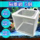 5%還元送料無料魚隔離網繁殖水槽孵化産卵ボックス箱アクアリウ