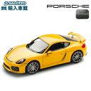 【 ポルシェ 純正 クーポン対象 】 モデルカー 981 ケイマン GT4 レーシングイエロー スケール 1:43 CAYMAN アクセサリー 完売モデルDickie Schuco GmbH Co. KG 社 シュコー製 ミニカー トイカー Porsche Design