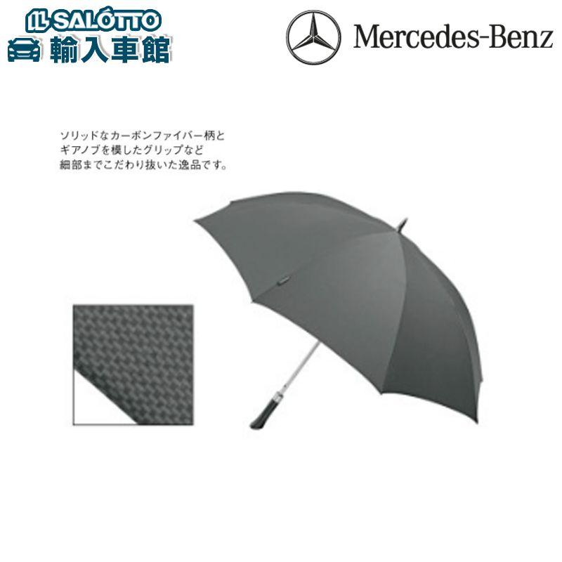 Mercedes-Benz 純正セレクション ☆ メルセデス ベンツAMG 傘 傘 メンズ ワンタッチオープン Teflonコーティング