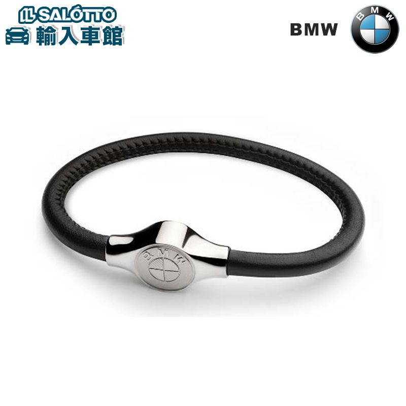 【 BMW 純正 クーポン対象 】 BMW ブレスレット - 滑らかなイタリア製レザーを使用 飾りステッチ付き BMW 純正  ブレスレット コレクション グッズ速いです