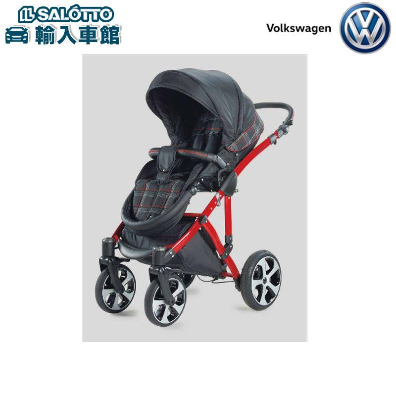 【 VW 純正 】GT ベビーカー 受注生産(サイズ:ベビーシートH640xL940xW410mm ベビーベッドH660xL880xW360mm)Golf GTI
