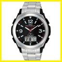 【送料無料】シチズン時計 Q&Q 電波ソーラー腕時計 MD04-205【楽ギフ_包装】