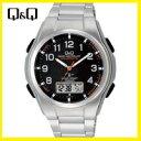 【送料無料】シチズン CITIZEN Q&Q 電波ソーラー腕時計 MD02-205【楽ギフ_包装】