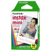 FUJIFILM・フジフィルム インスタントカメラ チェキ用フィルム 1P instax mini 1P