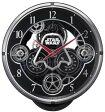 【送料無料】リズム時計 スターウォーズ 電波からくり時計 4MN533MC02【楽ギフ_包装】