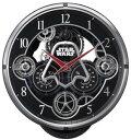 【送料無料】RHYTHM・リズム時計 スターウォーズ 電波からくり時計 4MN533MC02【楽ギフ_包装】