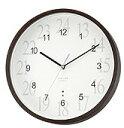 【送料無料】CITIZEN・シチズン・リズム時計 シンプルでエレガントな電波掛時計 ATELIER 電波時計 アトリエM444 8MY444AT06【楽ギフ_包装】