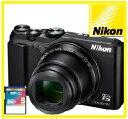【送料無料】Nikon・ニコン デジカメ 光学35倍ズームチルト式液晶モニター COOLPIX A900 ブラック【楽ギフ_包装】【***特別価格***】