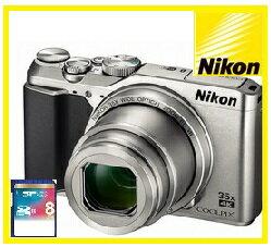 2016年10月発売予定【送料無料】Nikon・ニコン 光学35倍ズームチルト式液晶モニターデジカメ COOLPIX A900 シルバー【楽ギフ_包装】【***特別価格***】