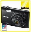 今ならSDHCカード8GB付き【送料無料】Nikon・ニコン デジカメ Wi-Fi内蔵光学8倍ズーム クールピクス COOLPIX A300 BK ブラック【楽ギフ_包装】【***特別価格***】