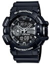 【送料無料】【国内正規品】CASIO・カシオ 腕時計 G-SHOCK ブラック×シルバー GA-400GB-1AJF【ラッピング無料】【楽ギフ_包装】