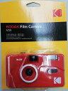 【送料無料】KODAK フィルムカメラ M38 レッド 海外モデル 35ミリフィルムカメラ【楽ギフ_包装】