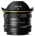 【送料無料】KAMLAN・カムラン レンズ 8mm F3.0 フジ Xマウント【楽ギフ_包装】【***特別価格***】