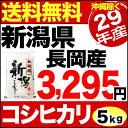 【新米】新潟県長岡産コシヒカリ 5kg 29年産 米 【送料...