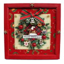 ビリー ドールハウスキット 8727 クリスマスリースフレーム【お取り寄せ商品】【ドールハウス、手作りキット、ジオラマ】