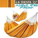 LA SIESTA(ラシエスタ) hammock double ハンモック ダブル アプリコット CUH16-5【アウトドア キャンプ ハンモック サマーベッド】【お取り寄せ】【同梱/代引不可】