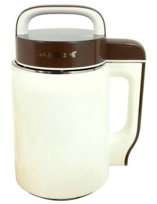 小さな豆乳工場 豆乳メーカー1人用飲みきりサイズ 乾燥大豆と水を入れてスイッチを押すだけ シンプル構造でお掃除簡単 [送料無料][代引手数料無料][北海道,沖縄は送料別途1,080円]