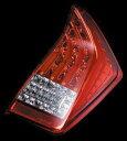 VALENTI JAPAN(バレンティジャパン) LEDテールランプ ハーフレッドレンズ / クローム適合車種 プリウス 30系 ヴァレンティジャパン TT30PRI-HC-1 ☆送料無料(一部地域除く)