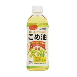 【送料無料】こめ油 500g 12本セット 国産 築野食品 築野 TSUNO ツノ