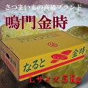 【徳島特産】鳴門金時さつま芋 Lサイズ5Kg